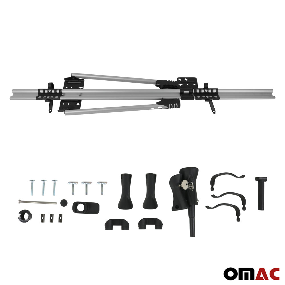 Roof Bike Bicycle Carrier Rack Mount Silver For Land Rover ...