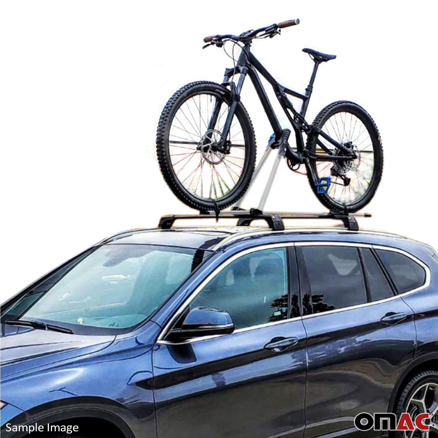 Roof Bike Bicycle Carrier Rack Mount Alu Silver For Audi