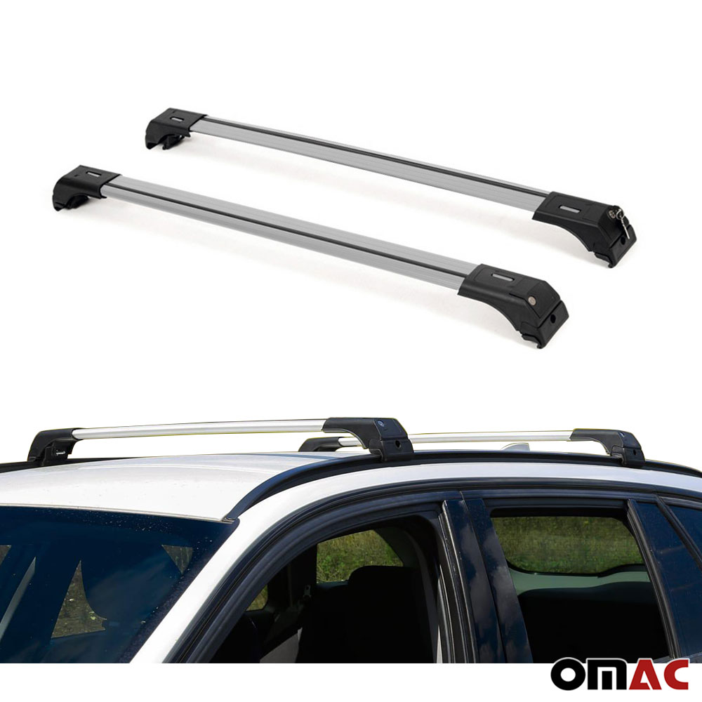 n\a US Black roof Rack for KIA Sportage 2016 2017 2018 2019 2020 Top roof Rail Roof Rack Cross Bars Luggage Carrier Lockable 2