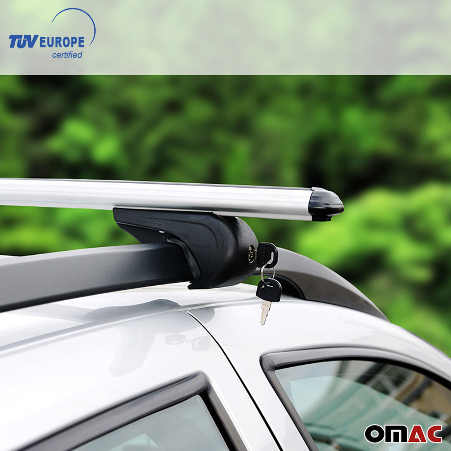 VOLVO XC70 Roof Racks Cross Bars Carrier Rails Alu SET with TUV