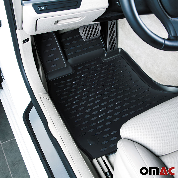 3D All weather Floor Liners Mats 3pcs set for Porsche Cayenne 2010-up