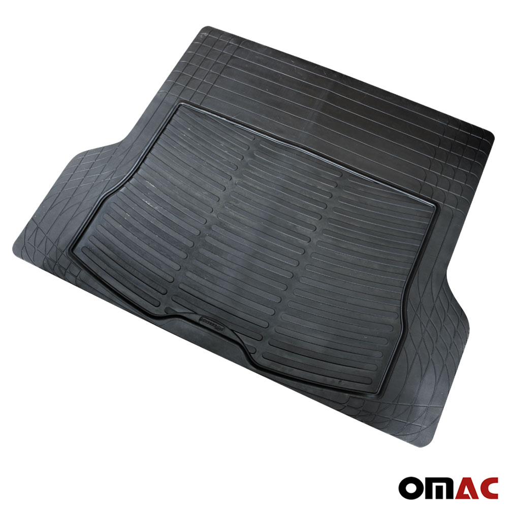 PROTECTIVE RUBBER BOOT MATS TO FIT Alfa Romeo 147 MODELS UNIVERSAL BOOT MAT