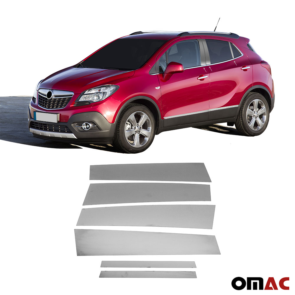 Fits Ford Kuga 2013-2020 Chrome Window Frame Trim Sill Cover S.Steel 10 Pcs