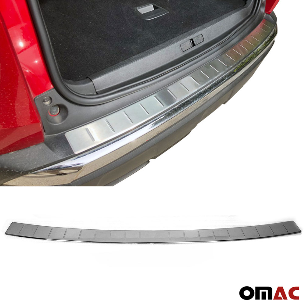 FORD TOURNEO CUSTOM 2012-up REAR BUMPER SILL PROTECTOR STAINLESS STEEL CHROME