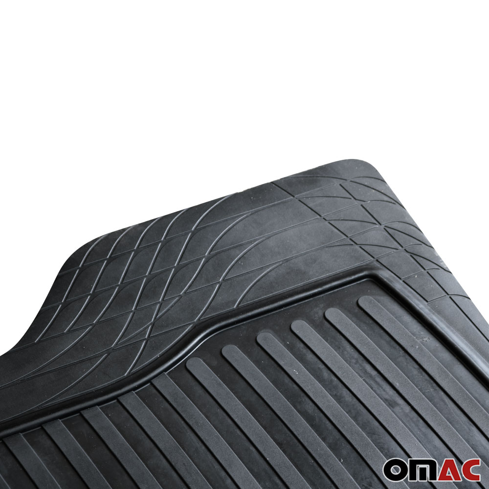 Waterproof Rubber 3D Molded Big Trunk Mat Liner For Acura