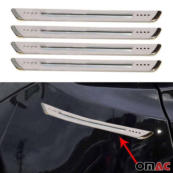 Carbon Fiber Door Handle Scratch Protector Guard Trim Fits Nissan Rouge 4 Pack